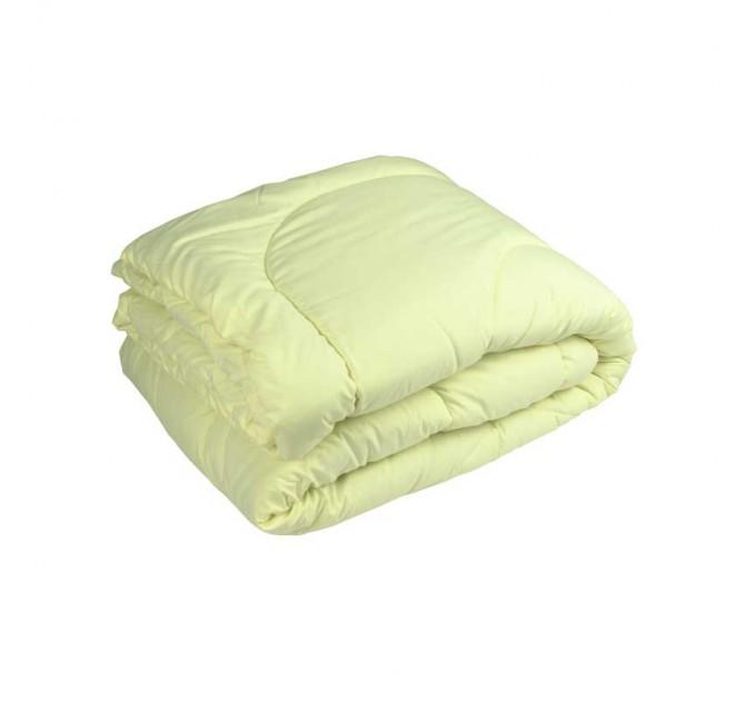 Одеяло РУНО 200х220 силиконовое 300 г/м2, чехол микрофайбер, молочный - фото № 1