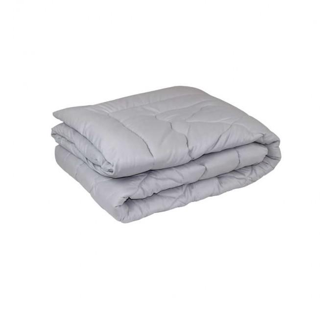 Одеяло РУНО 200х220 шерстяное, серый - фото № 1