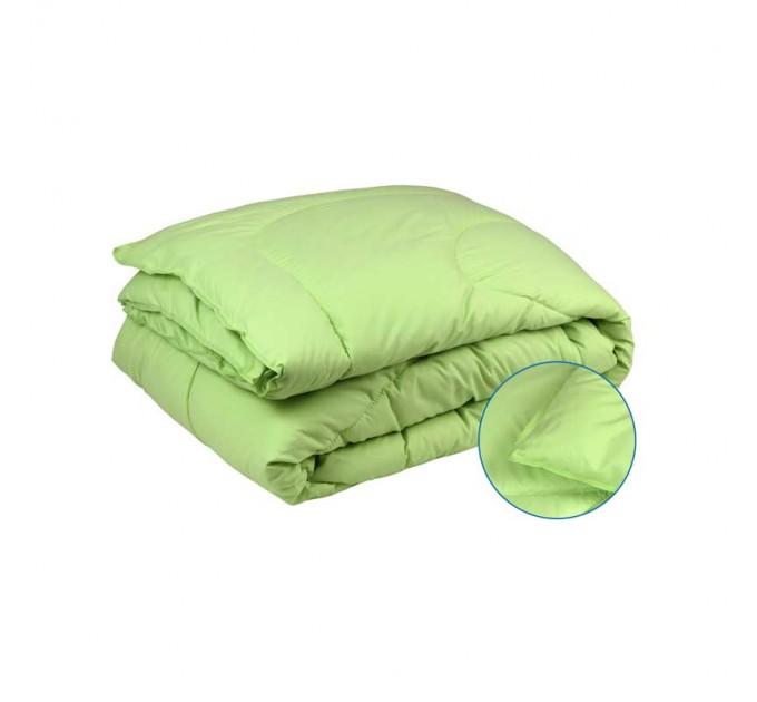 Одеяло РУНО 200х220 силиконовое, салатовое - фото № 1