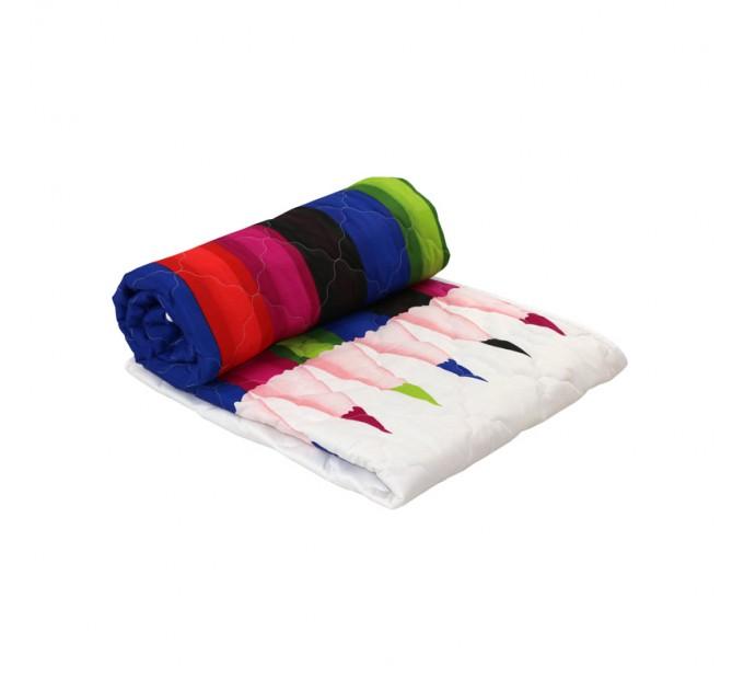 """Одеяло РУНО 172х205 """"Pencils"""", силиконовое - фото № 1"""