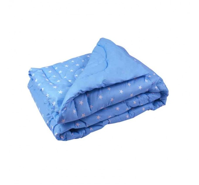 "Одеяло 200х220 шерстяное ""Blue"" - фото № 1"