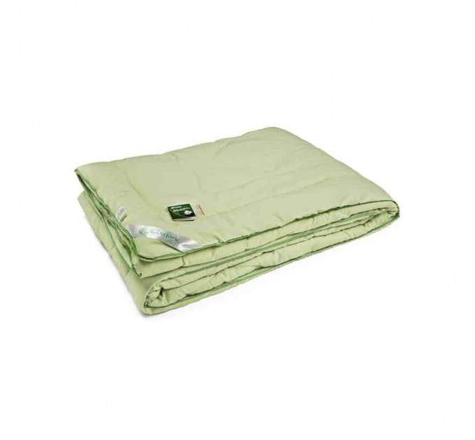 Одеяло РУНО 140х205 бамбуковое, салатовый - фото № 1
