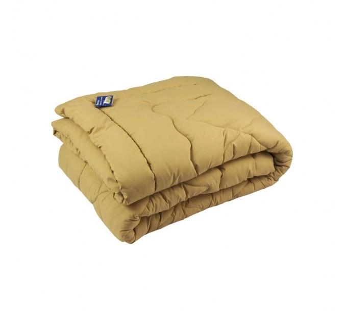 Одеяло РУНО 140х205 шерстяное, бежевый - фото № 1
