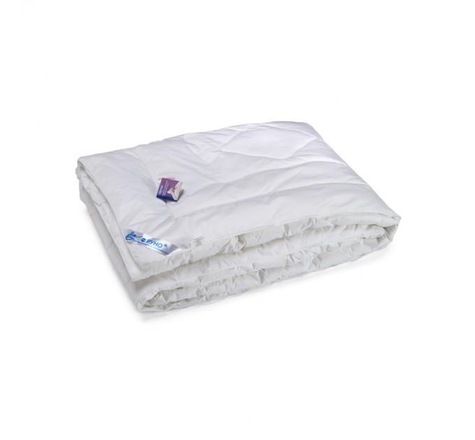 Одеяло РУНО 172х205 искусственный лебяжий пух 225 г/м2 - фото № 1