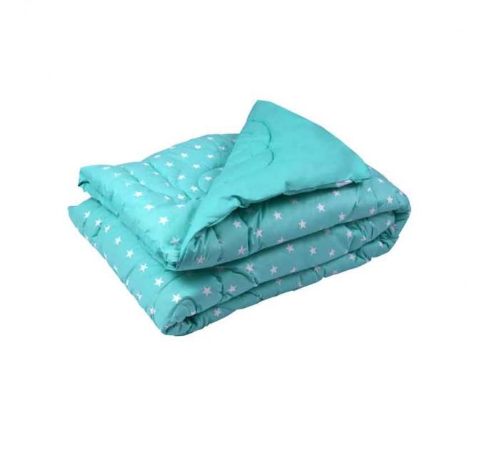 """Одеяло 200х220 шерстяное дизайн """"Mint"""" - фото № 1"""