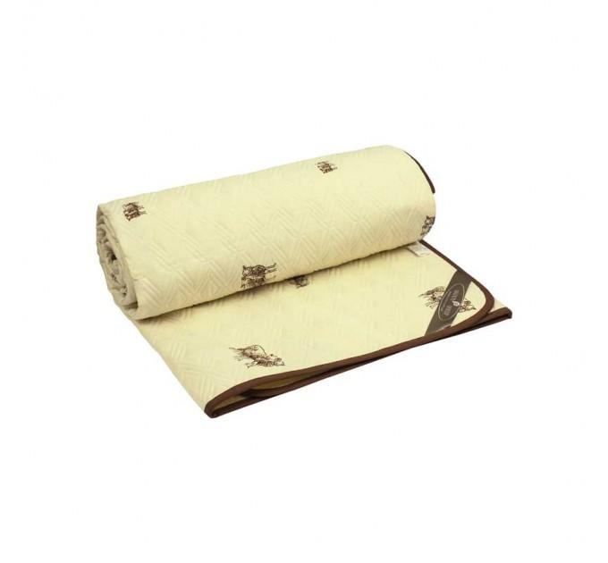"Одеяло РУНО 140х205 ""SHEEP"" шерстяное 160 гр/м2 - фото № 1"