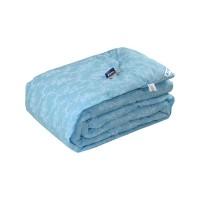 """Одеяло 200х220 шерстяное """"Голубой вензель"""""""