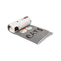"Одеяло 200х220 шерстяное дизайн ""My cat"""
