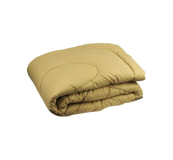 Одеяло РУНО 200х220 силиконовое 300 г/м2, бежевый - фото № 1