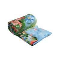 "Одеяло 200х220 шерстяное ""Summer flowers"""