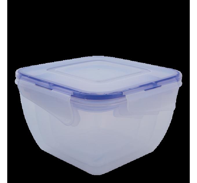 Контейнеры для пищевых продуктов Алеана квадратный 3в1 с зажимом (167050) - фото № 1