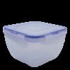 Контейнеры для пищевых продуктов Алеана квадратный 3в1 с зажимом (167050)