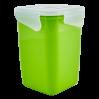 Контейнер универсальный Алеана Фиеста глубокий 1л, оливковый/прозрачный (168051)