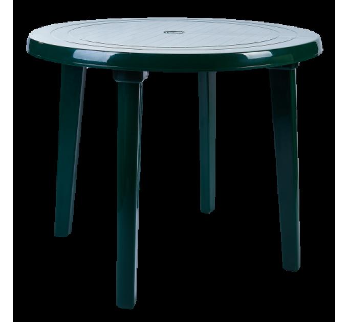 Стол Алеана круглый, зеленый (100011) - фото № 1