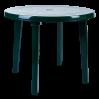 Стол Алеана круглый, зеленый (100011)