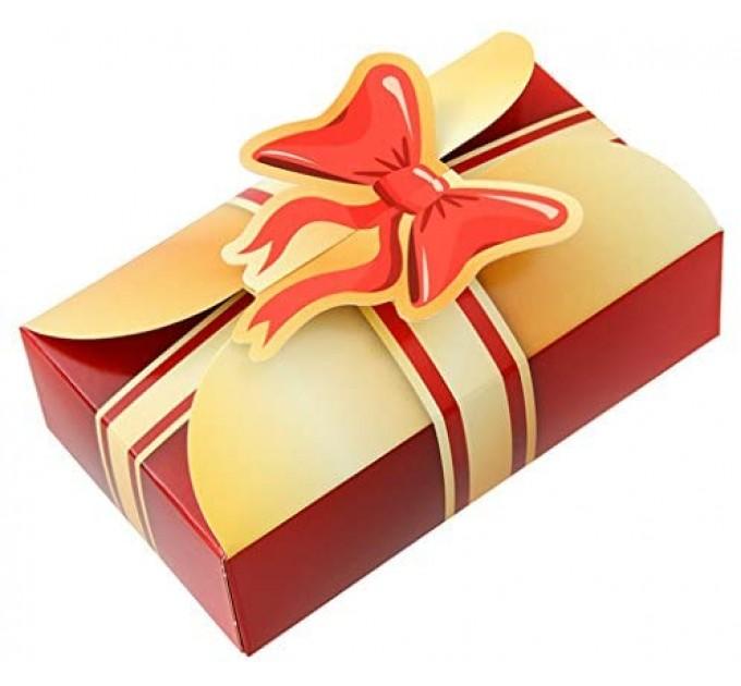 Коробка бумажная на 4 пирожные Fackelmann (43480)
