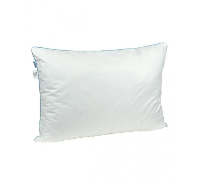 Подушка РУНО 50х70 силиконовая, белый - фото № 1