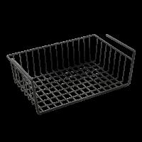 Корзина навесная 30*26*14см KANGURO-40 LAVA Metaltex, серый (363040)