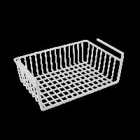 Корзина навесная 40*26*14см BABATEX Metaltex, белый (363840)