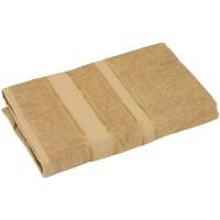 Полотенце махровое РУНО 50x90, бежевый