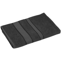 Полотенце махровое РУНО 50x90, серый