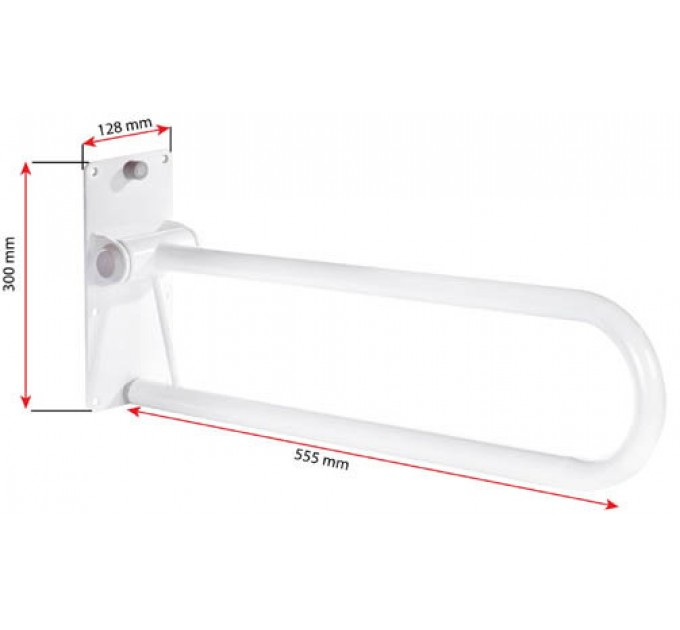 Поручень опора для туалета Ridder (A0130201)