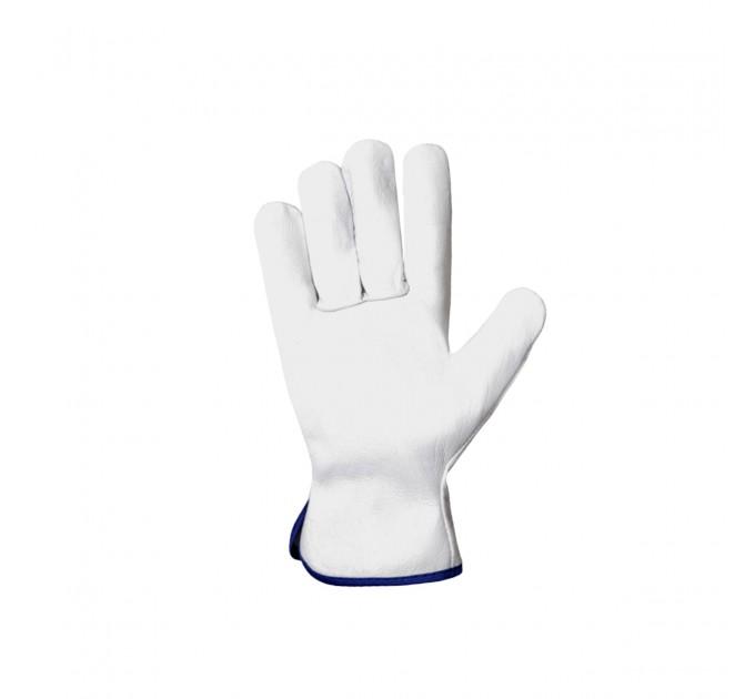 Рабочие перчатки Mover CRUZE из мягкой кожи, белый (212) - фото № 2