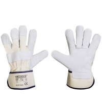 Рабочие перчатки Mover FOREST спилок 12 пар/уп, серый (211)