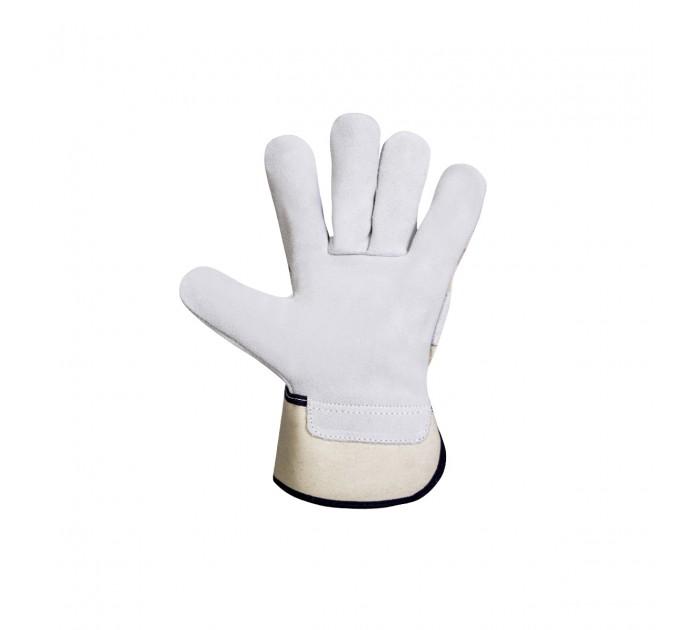 Рабочие перчатки Mover FOREST спилок, серый (211) - фото № 2