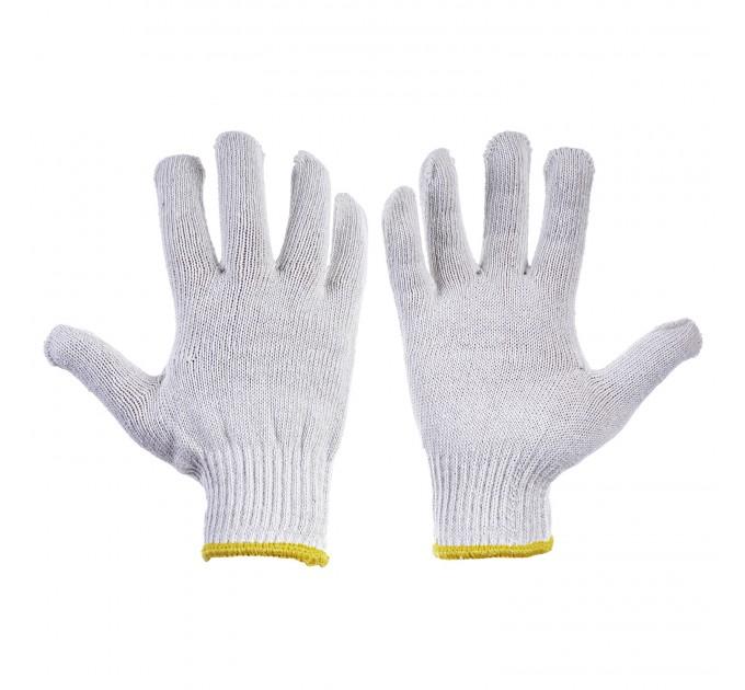 Рабочие трикотажные перчатки Mover 12 пар/уп, белый (NLX-C002) - фото № 1