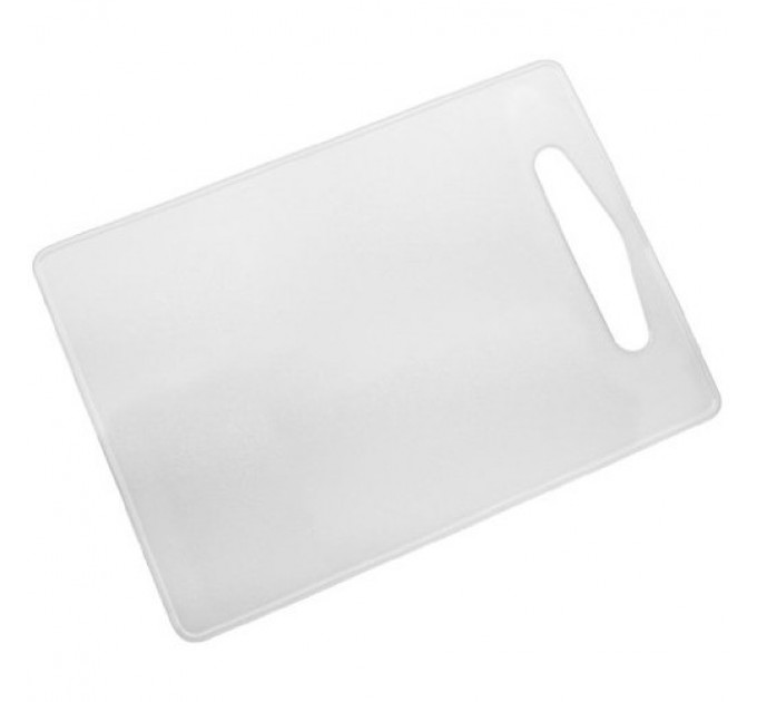 Доска разделочная Fackelmann 34х24 см, пластик, белый (39015) - фото № 1