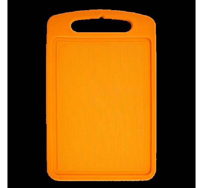 Доска разделочная Алеана 35*25см, светло-оранжевый (168029) - фото № 1