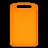 Доска разделочная Алеана 35*25см, светло-оранжевый (168029)