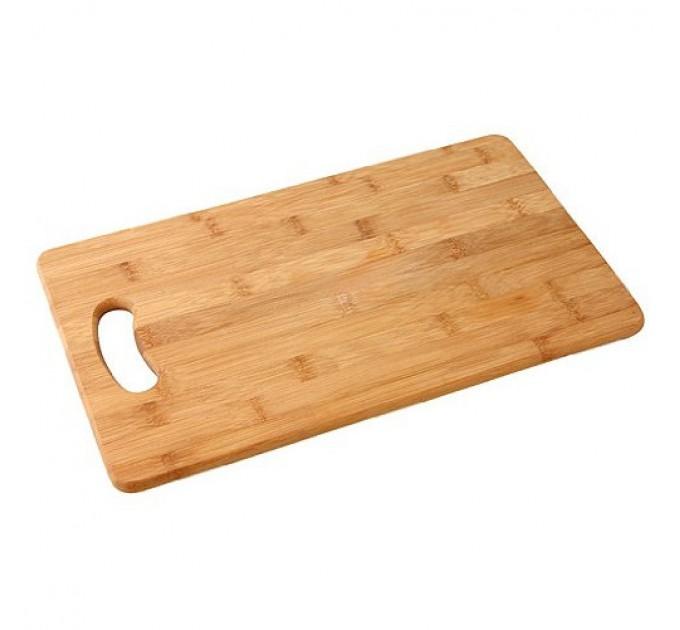 Доска разделочная Fackelmann 38*23*1.3 см, бамбук (37740) - фото № 1
