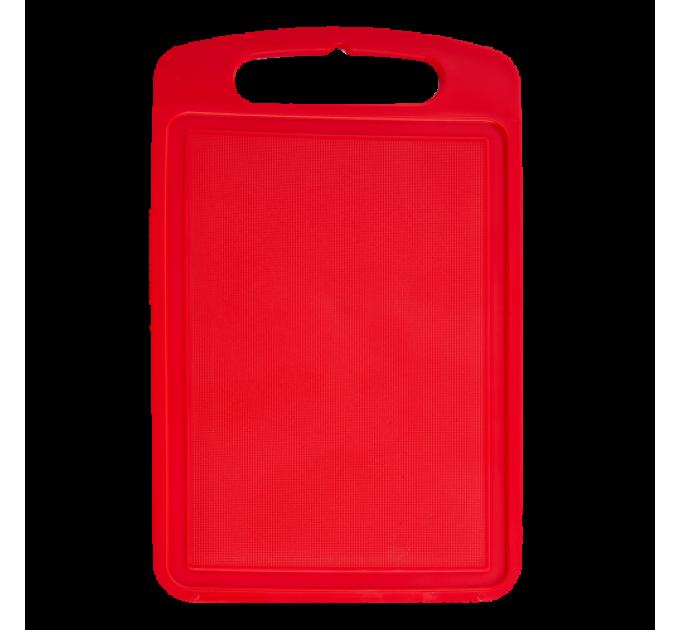 Доска разделочная Алеана 30*20см, красный (168028) - фото № 1