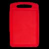 Доска разделочная Алеана 30*20см, красный (168028)