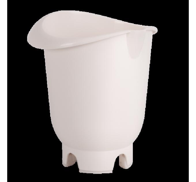 Чаша для миксера Алеана 1л, белая роза (168021) - фото № 1
