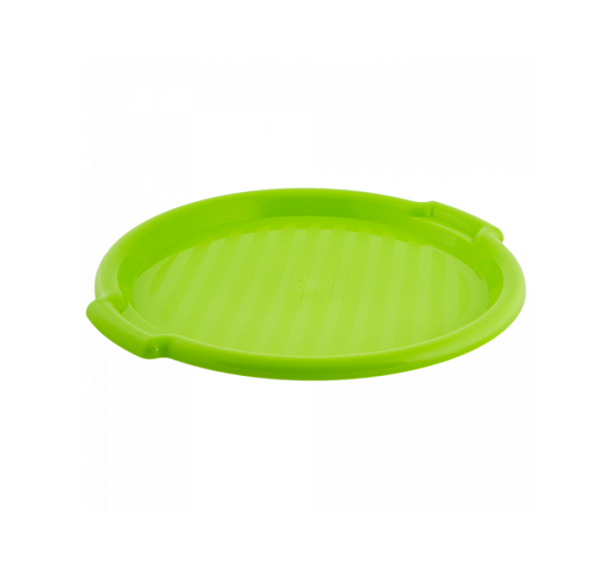 Поднос Алеана круглый d39*2.45см, оливковый (167098) - фото № 1