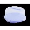 Тортовница Алеана круглая, сиреневый/прозрачный (169056)