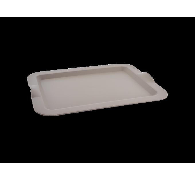 Поднос Алеана прямоугольный 46*36*4см, какао (167404) - фото № 1
