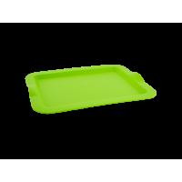 Поднос Алеана прямоугольный 46*36*4см, оливковый (167404)