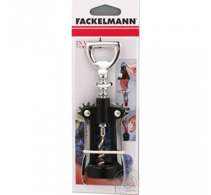 "Штопор Fackelmann ""Мельница"" 17 см, сталь/пластик (49781) - фото № 1"