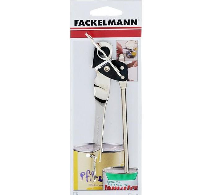 Открывалка для консервов и бутылок Fackelmann, 17.5 см, сталь/пластик (45530) - фото № 1