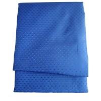 "Штора для ванной комнаты текстильная Chaoya ""Пика"", 180х180 см, ультра-синяя"
