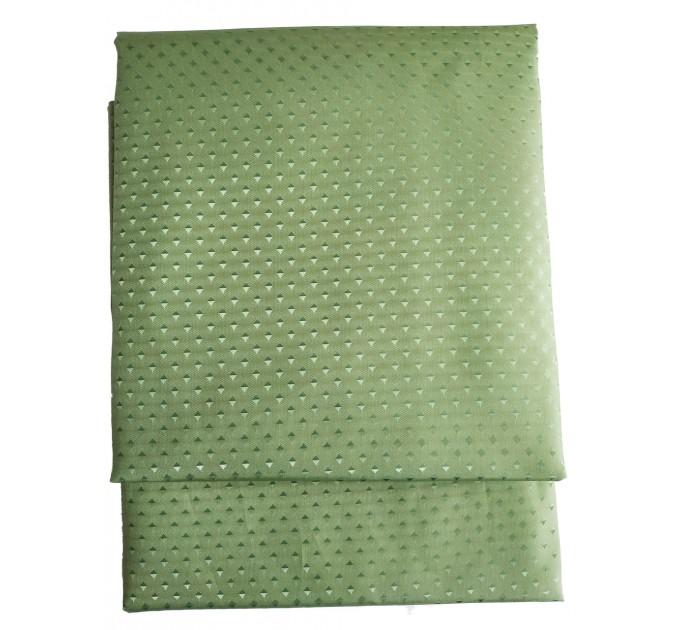 "Штора для ванной комнаты текстильная Chaoya ""Пика"", 180х180 см, темно-зеленая"