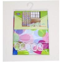 Штора для ванной комнаты с кольцами Chaoya зонтиковая ткань, 180х180см