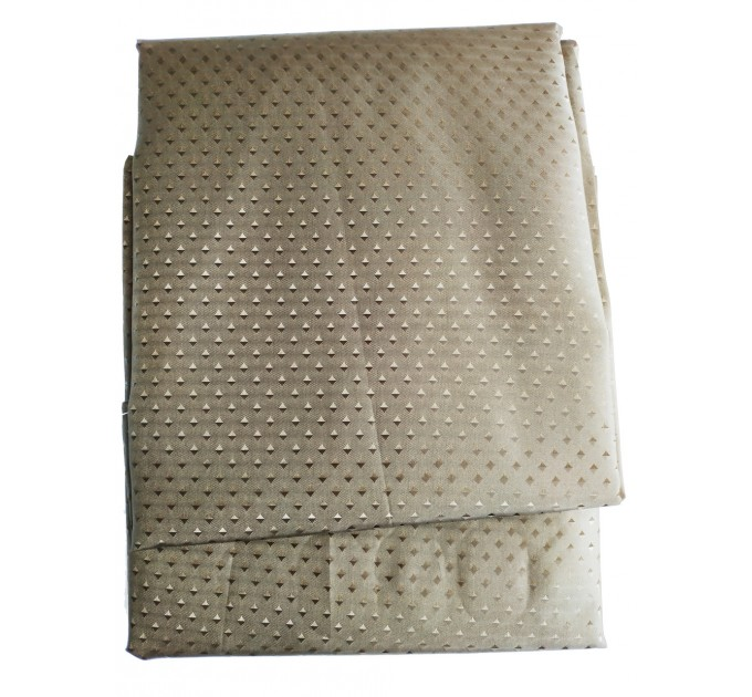 """Штора для ванной комнаты текстильная Chaoya """"Пика"""", 180х180 см, коричневая"""