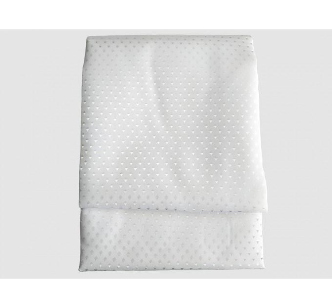 "Штора для ванной комнаты текстильная Chaoya ""Пика"", 180х180 см, белая"