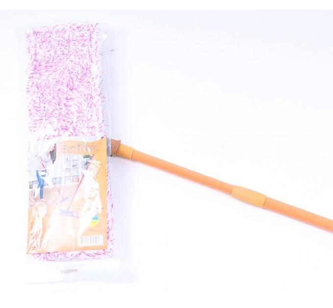 Швабра Eco Fabric PREMIUM из микрофибры 42 см, ручка телескоп. 120 см (EF-Tango)
