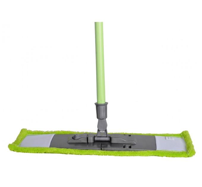 Швабра Dream Land насадка из микрофибры 42см, ручка 110см, зеленый (MF-MonoG)